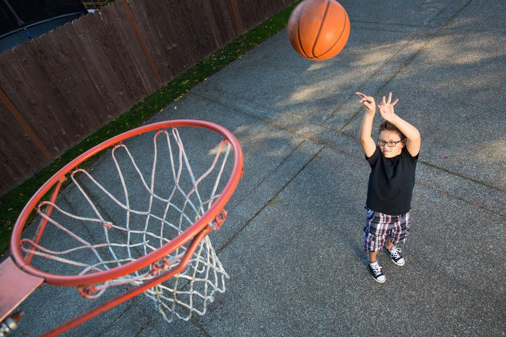 Home Basketball Hoop