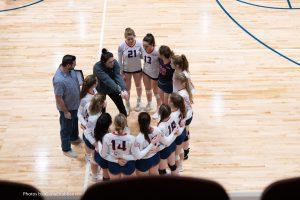 Rocky Mount Event Center Volleyball Court