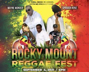 rocky mount reggae fest poster